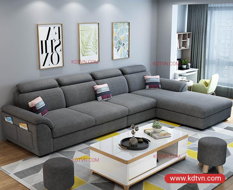 Sofa góc cho căn hộ chung cư KD181A