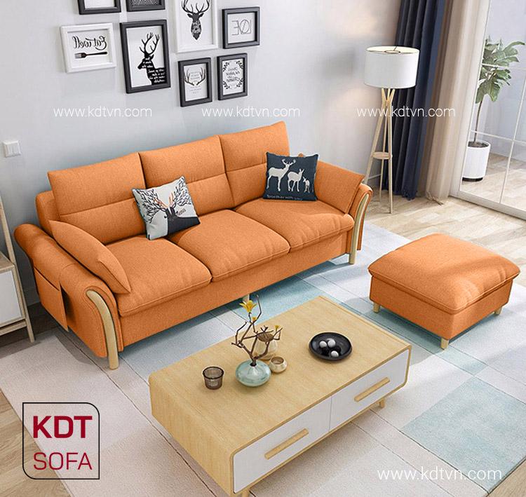 Sofa nỉ cho chung cư đẹp