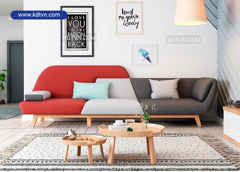 Sofa nỉ đẹp cho chung cư giá rẻ