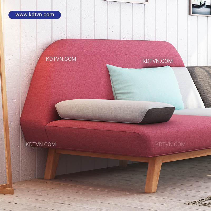 Sofa nỉ phòng khách hiện đại giá rẻ
