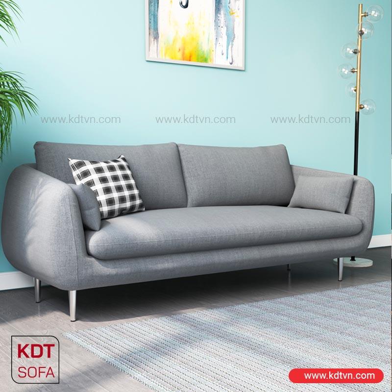 Sofa văng nỉ hiện đại cho nhà nhỏ