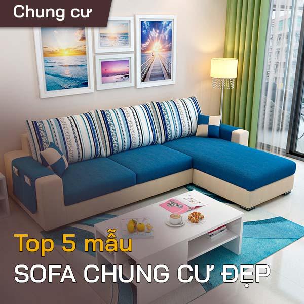 Top 5 mẫu sofa chung cư đẹp 1