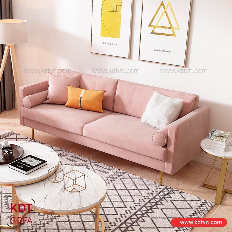 bàn ghế sofa cho phòng khách nhỏ