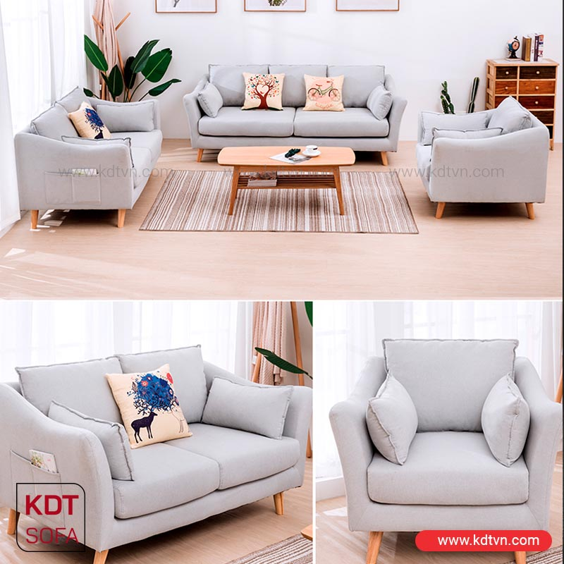 Bộ bàn ghế sofa phòng khách nhỏ đẹp