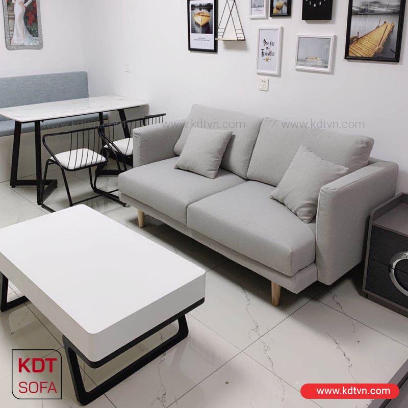 bộ bàn ghế sofa phòng khách nhỏ giá rẻ