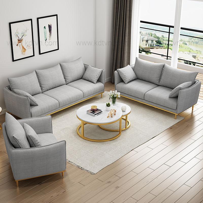 Bộ ghế sofa cho phòng khách gia đình