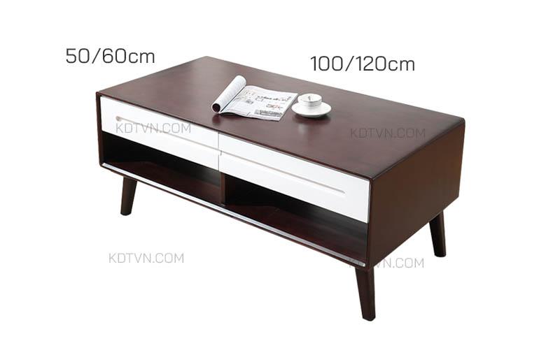 Kích thước bàn trà B55