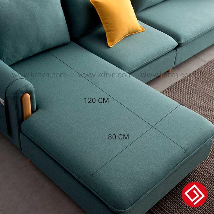 Phần góc L đệm ghế sofa