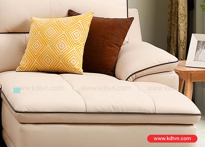 Mẫu sofa da hiện đại sang trọng