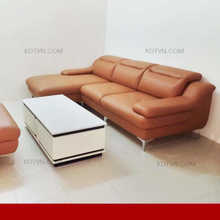 sofa da giá rẻ kd160