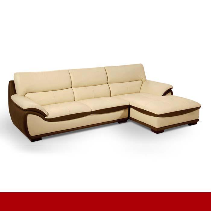 Sofa da thiết kế hiện đại