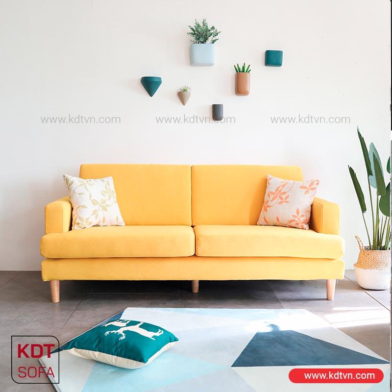 sofa nỉ phòng khách nhỏ giá rẻ