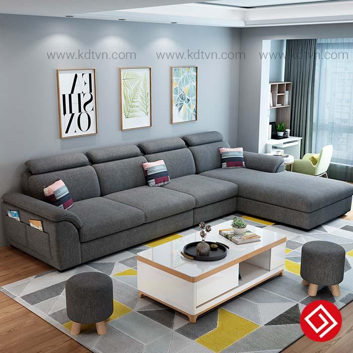 Sofa ni cho phòng khách rộng KD181A