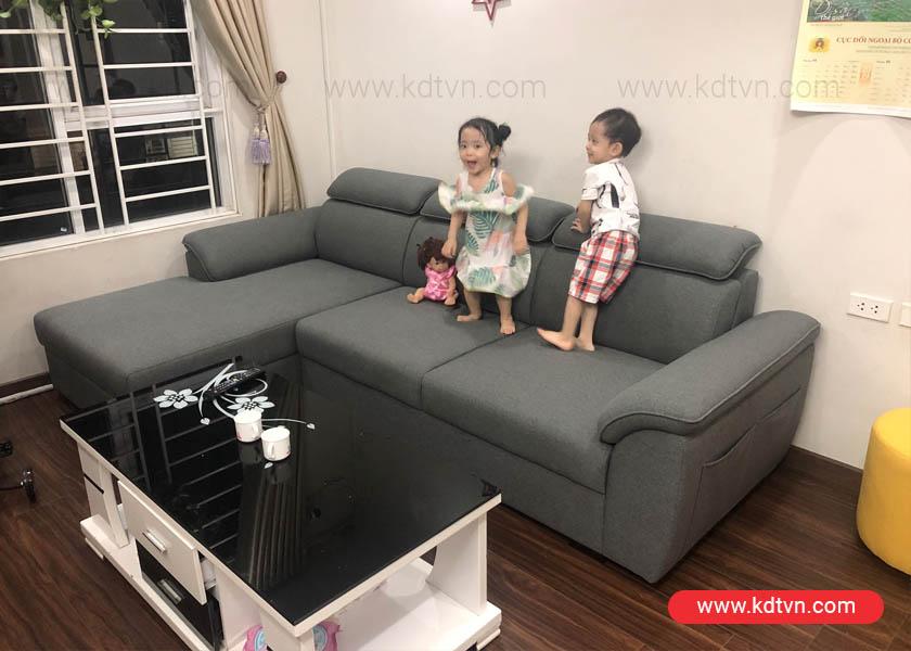 sofa ni kieu dang hien dai KD181A