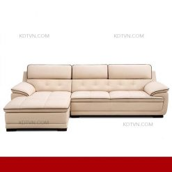 sofa da phòng khách hiện đại KD211