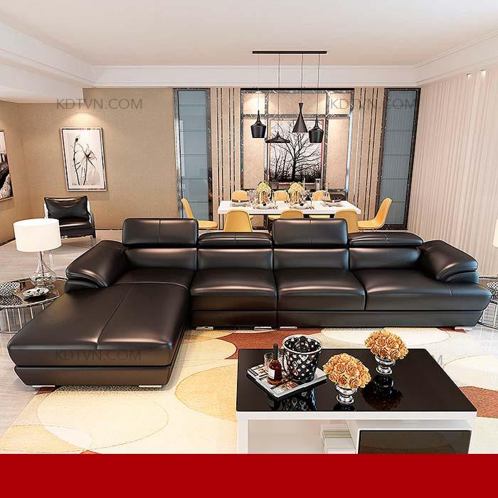 Sofa phòng khách rộng KD215