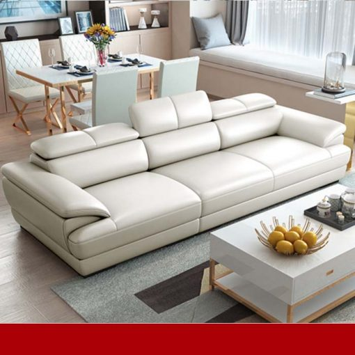 Sofa văng da phòng khách