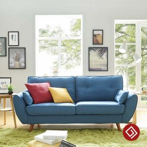 sofa vang ni 2 cho ngoi kd006