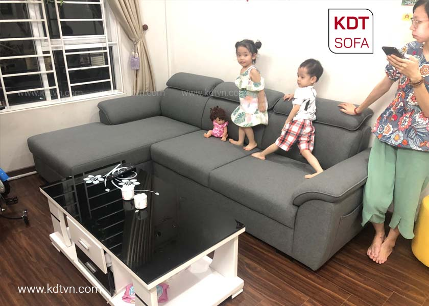 Sofa góc L đẹp hiện đại