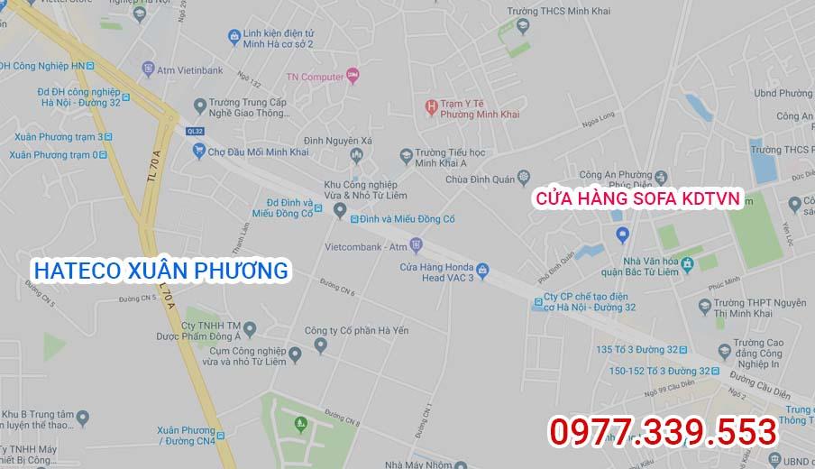 Địa chỉ cửa hàng bán ghế sofa Hateco Apollo Xuân Phương