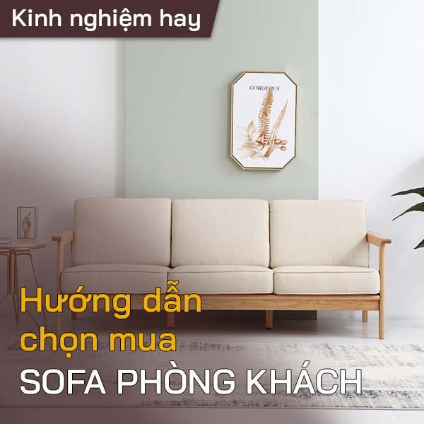 Hướng dẫn mua sofa phòng khách 1