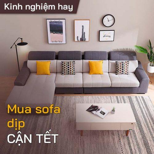 Tư vấn mua sofa giá rẻ vào dịp cận Tết