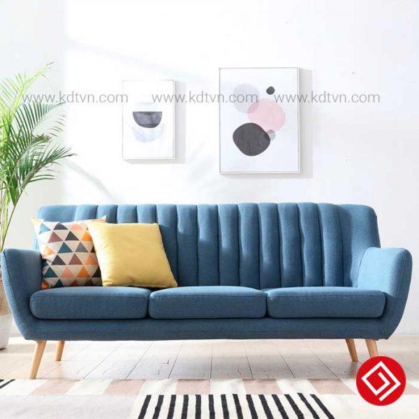 Sofa văng nỉ 3 chỗ ngồi