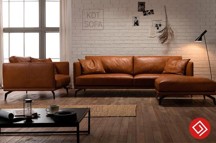 Sofa văng da bò giá rẻ