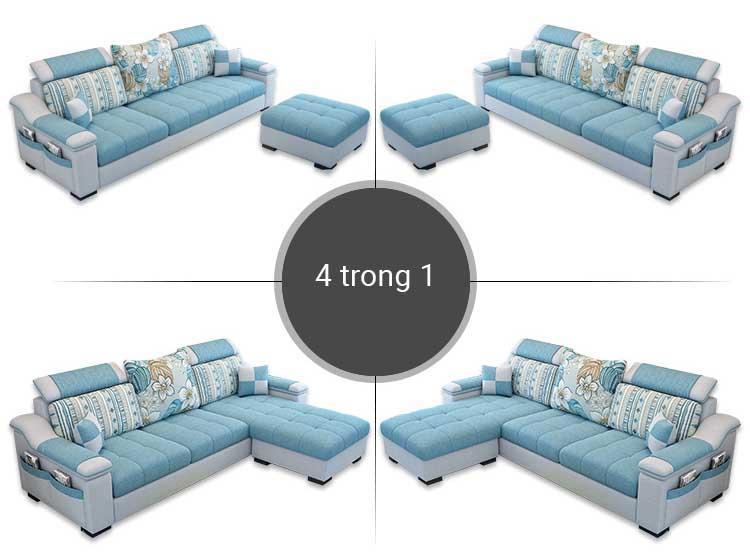 Kiểu dáng sofa nỉ KD022