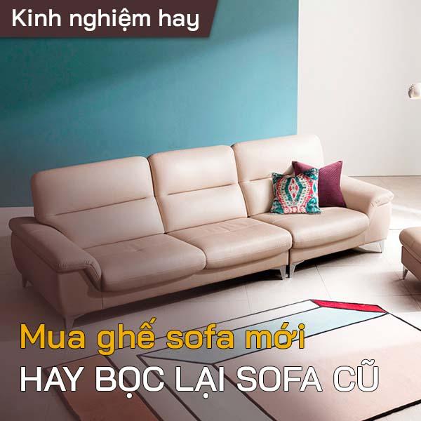 mua sofa mới hay bọc lại ghế sofa 1