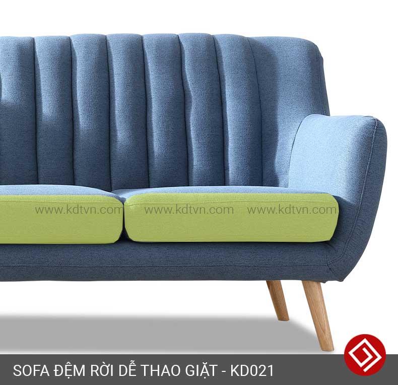 Sofa đệm rời dễ tháo giặt kd021
