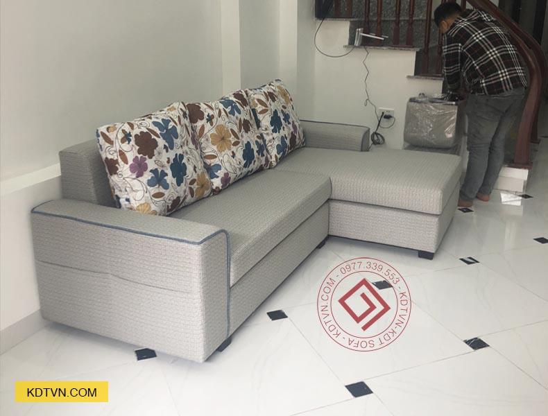 Sofa góc L nhà ống