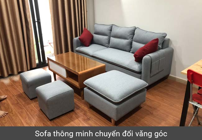 Sofa thông minh văng góc