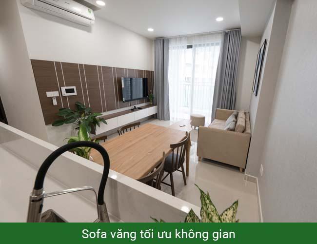 Sofa văng cho chung cư nhỏ hẹp
