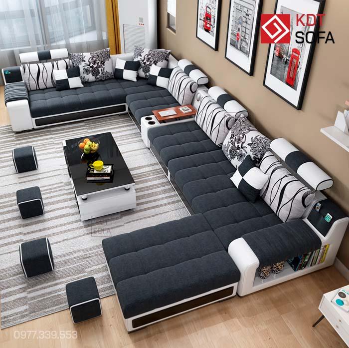 Bộ ghế sofa hình chữ U
