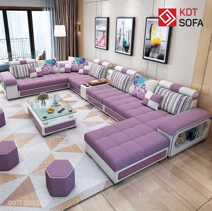 Sofa Hình chữ U cao cấp