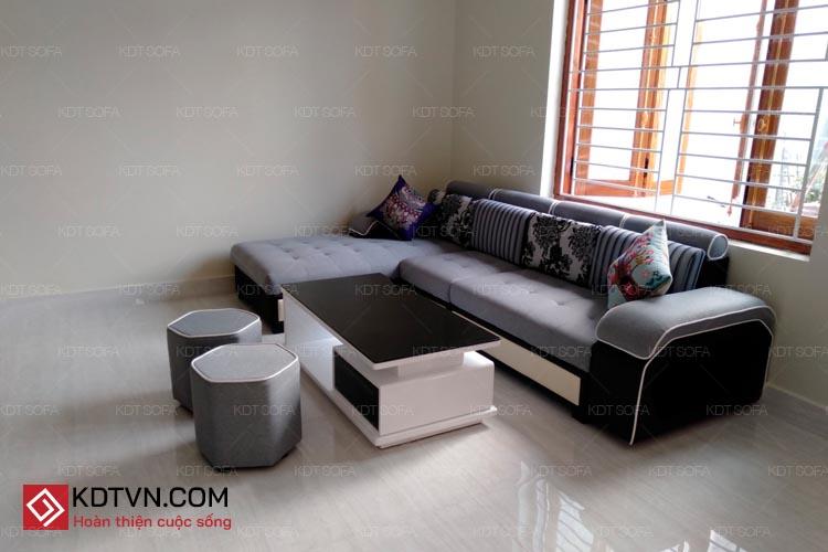 Mẫu sofa góc L dài 3m