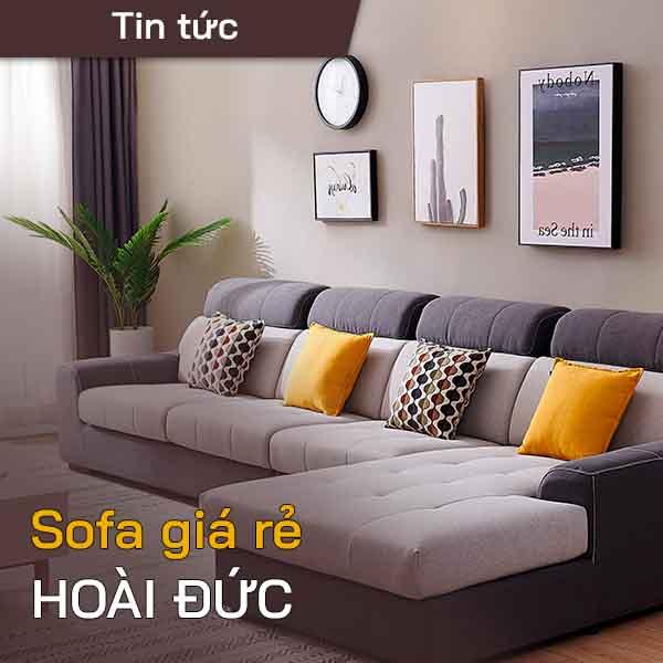 Sofa giá rẻ Hoài Đức