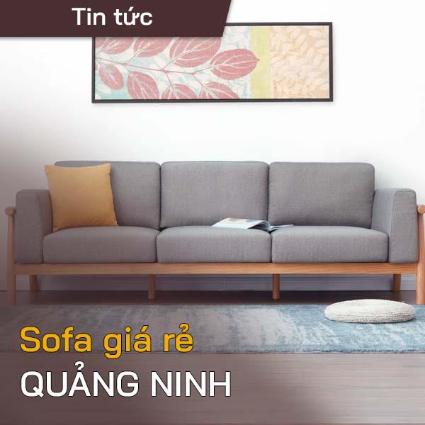 Sofa giá rẻ Quảng ninh