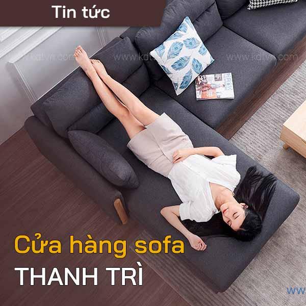 cửa hàng sofa thanh trì