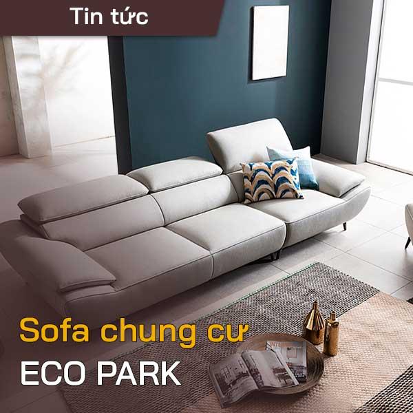 sofa chung cư ecopark