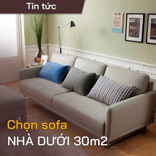 sofa nhà dưới 30m2