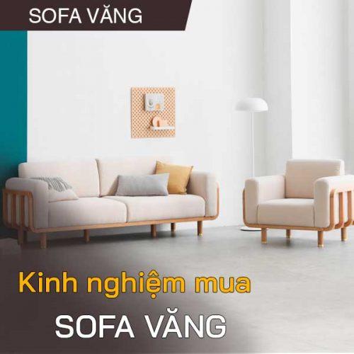 Kinh nghiệm chọn mua sofa văng dài