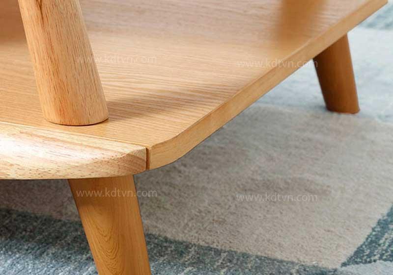 Chất liệu gỗ sồi bàn trà