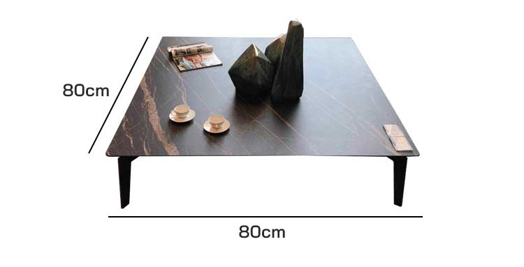 Kích thước bàn trà vuông