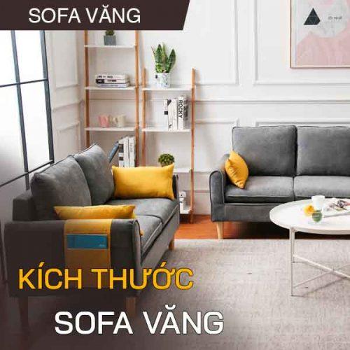 Tất tần tật về kích thước sofa văng dài bạn nên biết