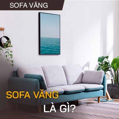 Sofa văng là gì? phòng khách nào nên chọn ghế sofa văng