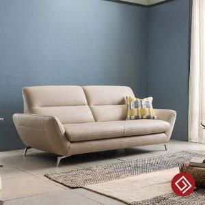Sofa văng thuyền bọc da KD116