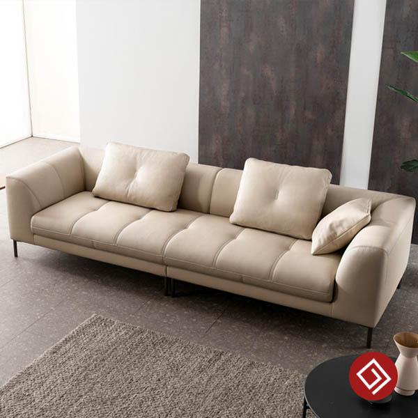 Sofa da 3 cho ngoi KD121