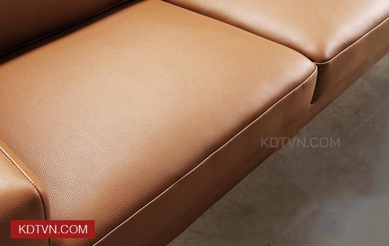 Đệm ghế sofa văng da 2 chỗ ngồi KD115
